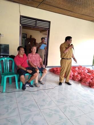 Sumbangan 40 Paket Sembako dari Yayasan Indo Rumah Zen